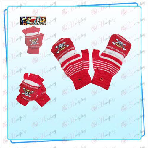 One Piece Dodatki Kito dvojne rokavice (rdeča)