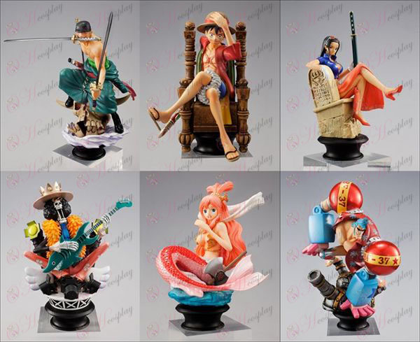 2nd generation 6 pieces pirates -2 years after Packed One Piece Accessories