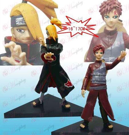 8. generation 2 Naruto gulv big dukke (Deidara Gaara)