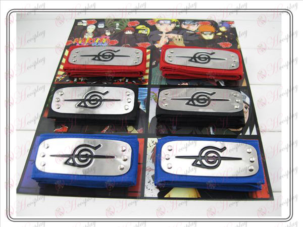 Naruto headband Value 3 colors rebel forbearance