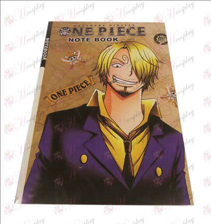 Sanji One Piece Accessories Notebook