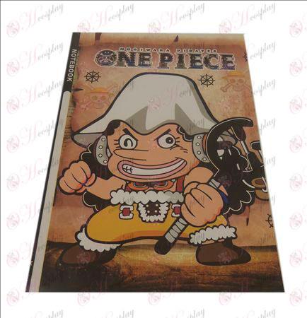 QOne Piece Tilbehør Usopp notebook