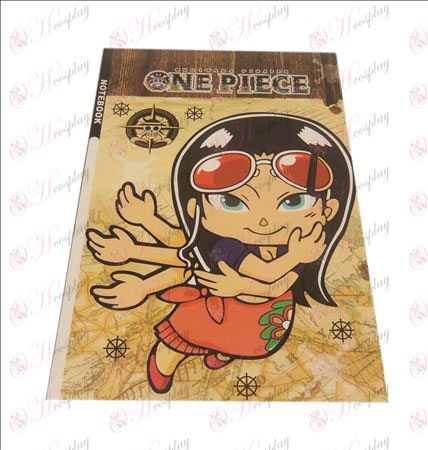 QOne Piece Accessories Robin notebook