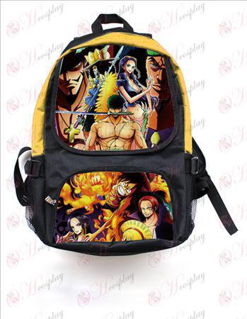 One Piece accessori colorati zaino 2550