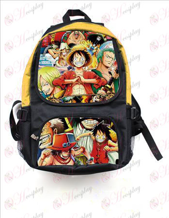 One Piece Accessories colored rucksack 2549