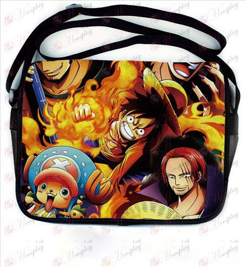 One Piece accessoires en cuir de couleur sacoche 695