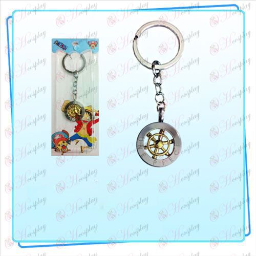 One Piece Acessórios volante anel chave