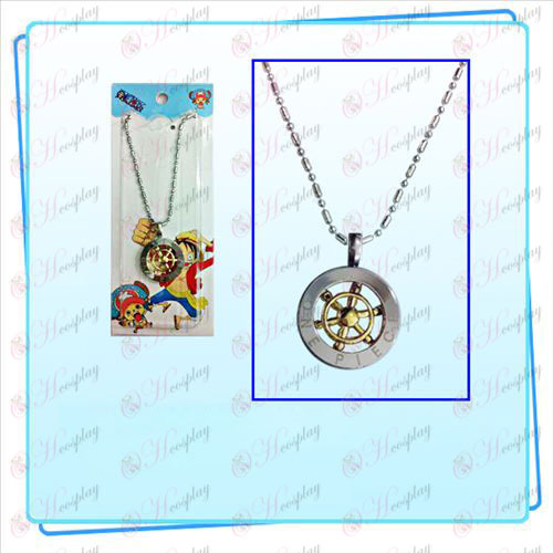 One Piece Accessories steering wheel rotation necklace