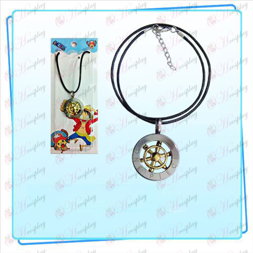 One Piece Accessories steering wheel black rope necklace