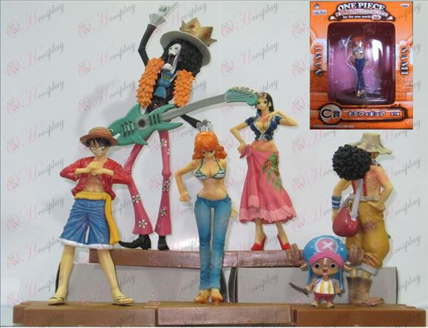 70 Generation 5 paragraph 6 characters One Piece Accessories (some tours)