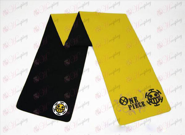 One Piece Accessori chirurgo-colore sciarpa doppia faccia