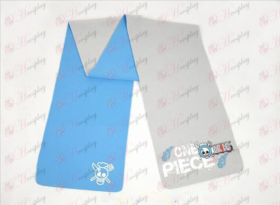 One Piece Tilbehør Sanji-farve dobbeltsidet Tørklæde