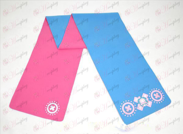 One Piece Accessories Chopper-color double-sided Scarf
