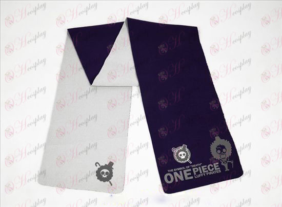 One Piece Accessories Brook-color double-sided Scarf