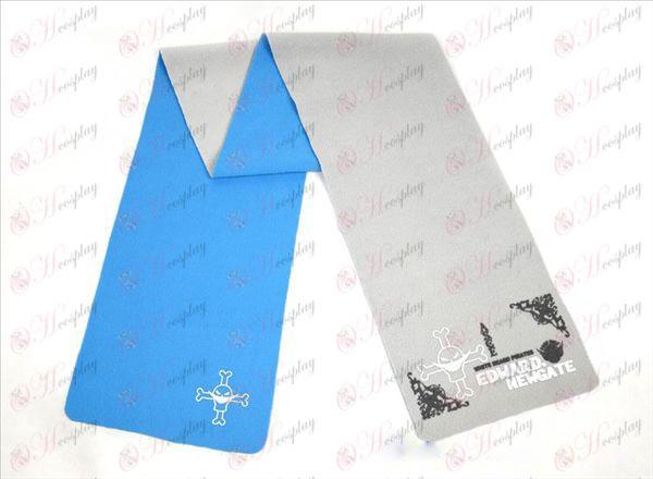 원피스 액세서리 흰 수염 컬러 양면 스카프