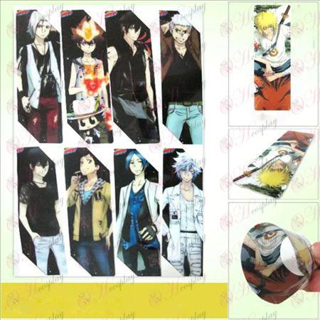 SQ024-Reborn! Zubehör anime großen Bookmarks (5 Version des Preises)