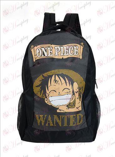 1224One peças acessórios Luffy Backpack