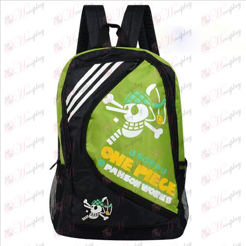 1225One Piece Tilbehør Usopp Backpack