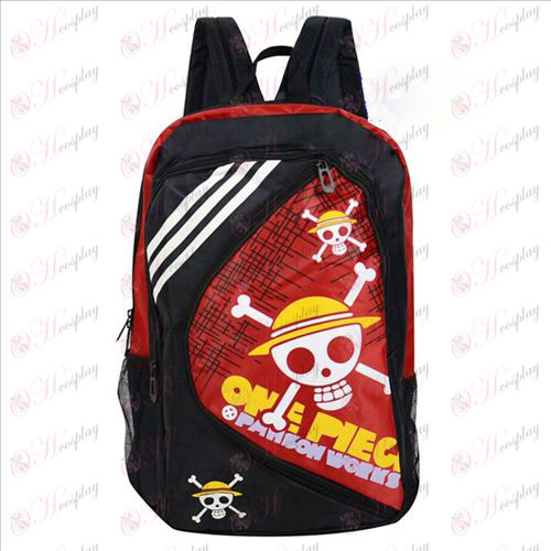 1225One Piece Tilbehør Luffy Backpack