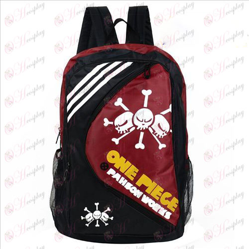 1225One Piece Accessories Backpack white beard