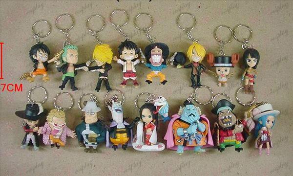 61 på vegne av 16 modeller av One Piece Tilbehør Buckle (542)
