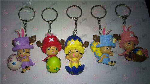 5 models Keychain Pirate Joe Egg