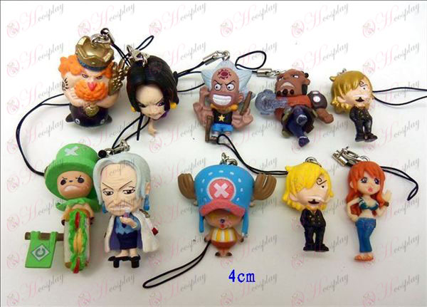 10 One Piece Accessories Toy Machine Rope