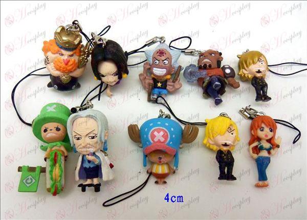 10 One Piece Аксесоари Rope Toy Machine