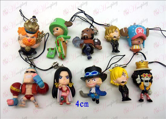 10 One Piece Accessoires Doll Machine Touw (Frankie)