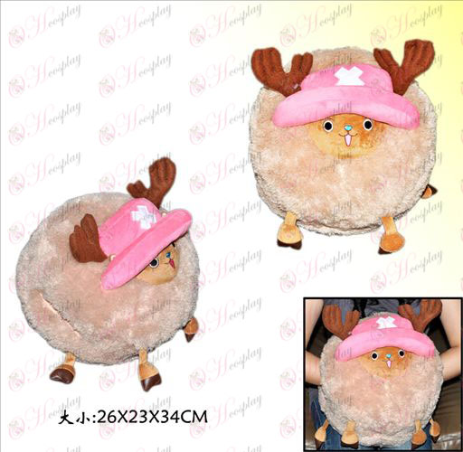 One Piece Accessories Chopper plush doll warmer
