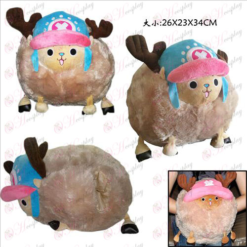 One Piece Accessoires jaar Houqiao Ba Pluche Hand Pillow