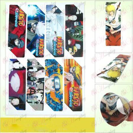 SQ019-Naruto Anime große Bookmarks (5 Version des Preises)
