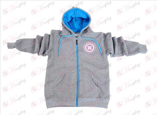 One Piece Accessories Chopper zipper hoodie sweater