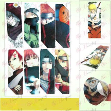 SQ018-Naruto Anime große Bookmarks (5 Version des Preises)