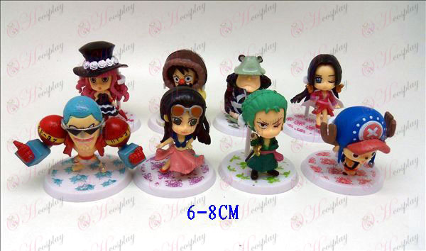 8 modelov One Piece Doplnky pre bábiky