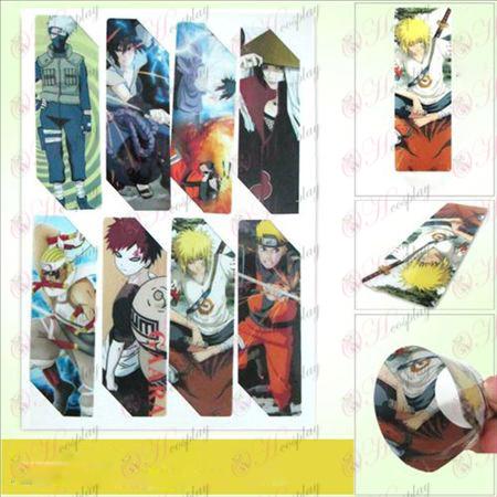 SQ017-Naruto anime big Bookmarks (5 version of the price)