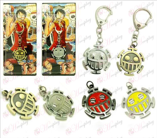One Piece Accessories - flag Pendant Keychain