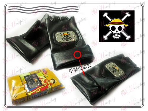 One Piece Accessories Collection layout leather gloves