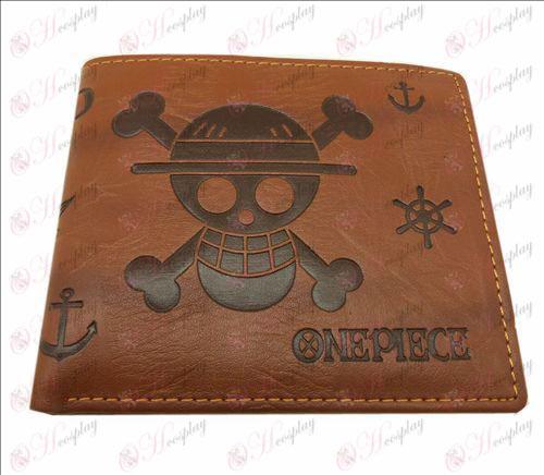 Carteira de couro blister One Piece Acessórios