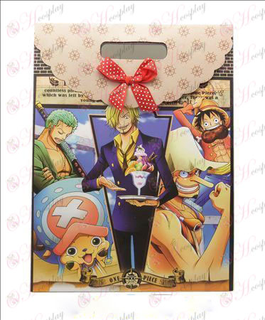 Grande saco de presente (One Piece AccessoriesA) 10 pcs / pack
