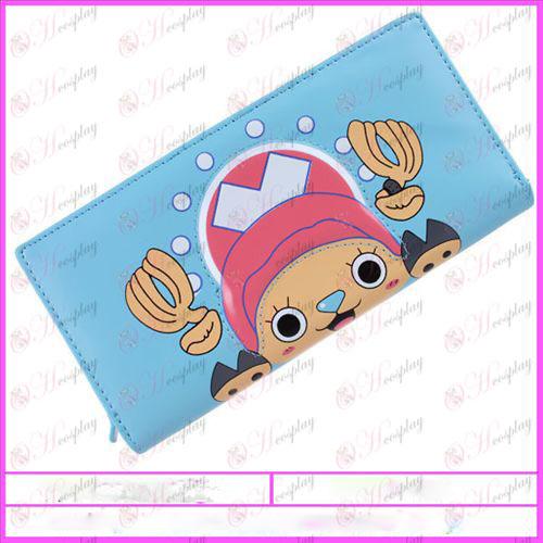 One Piece Accessori Chopper portafoglio del PVC