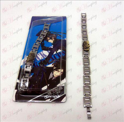DBlack Butler Accessoires eagle vlag armband (Brons)