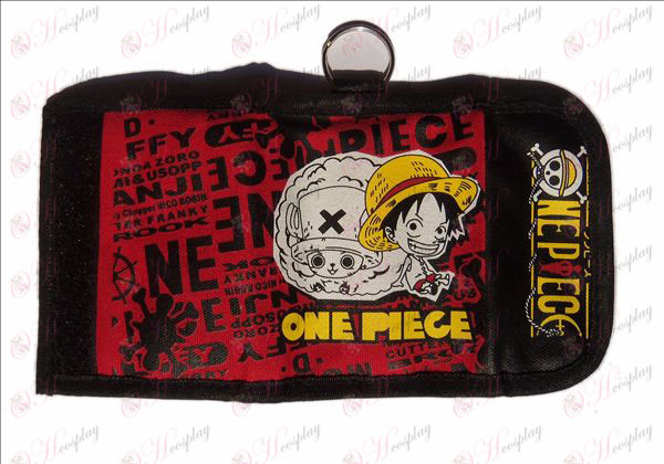Two fold wallet hijab (One Piece Accessories Luffy)