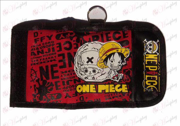 Два пъти портфейла хиджаб (One Piece Аксесоари Luffy)