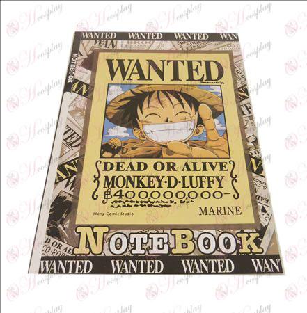 Luffy бележника