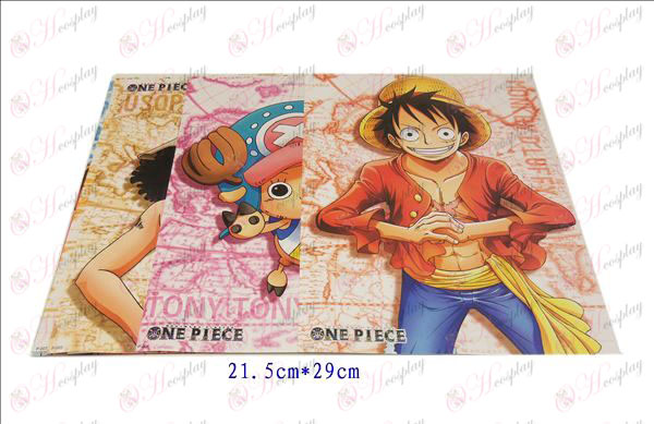 9 two years after the One Piece Accessories embossed poster 21.5 * 29