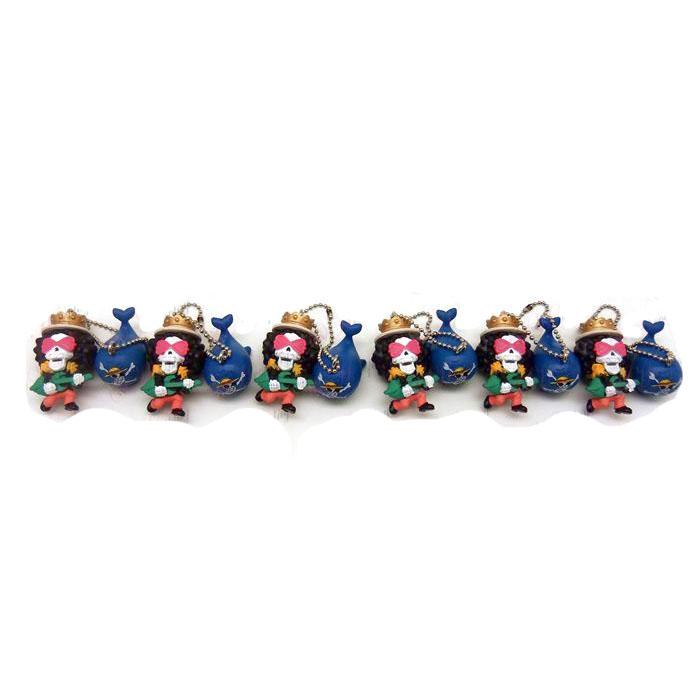 6 Brook doll ornaments