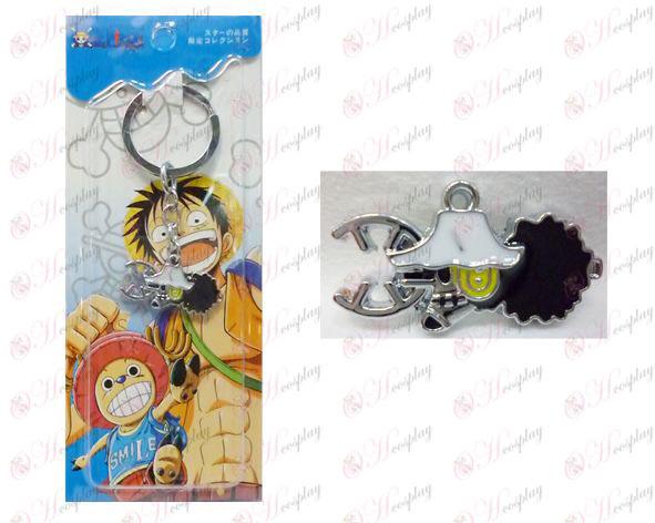 One Piece Аксесоари година Houwusuopu лого ключодържател