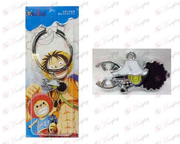 One Piece Аксесоари година Houwusuopu верига флага тел