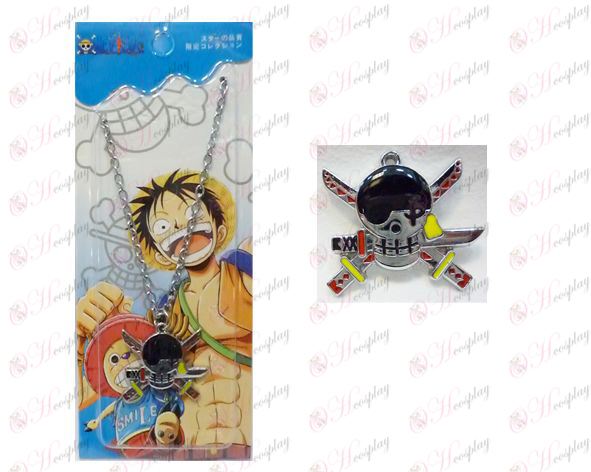 One Piece Accessori anni Housuo lunga bandiera 0 catena di parola